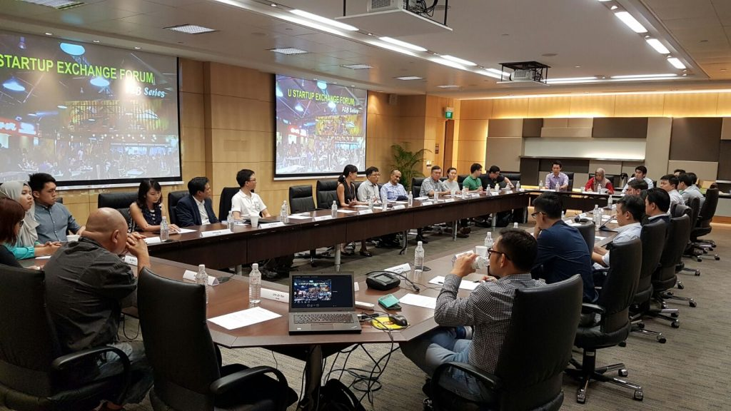 U Startup Exchange - F&B Series in session. Image from NTUC U Startup.