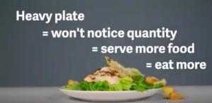 Use lighter plates