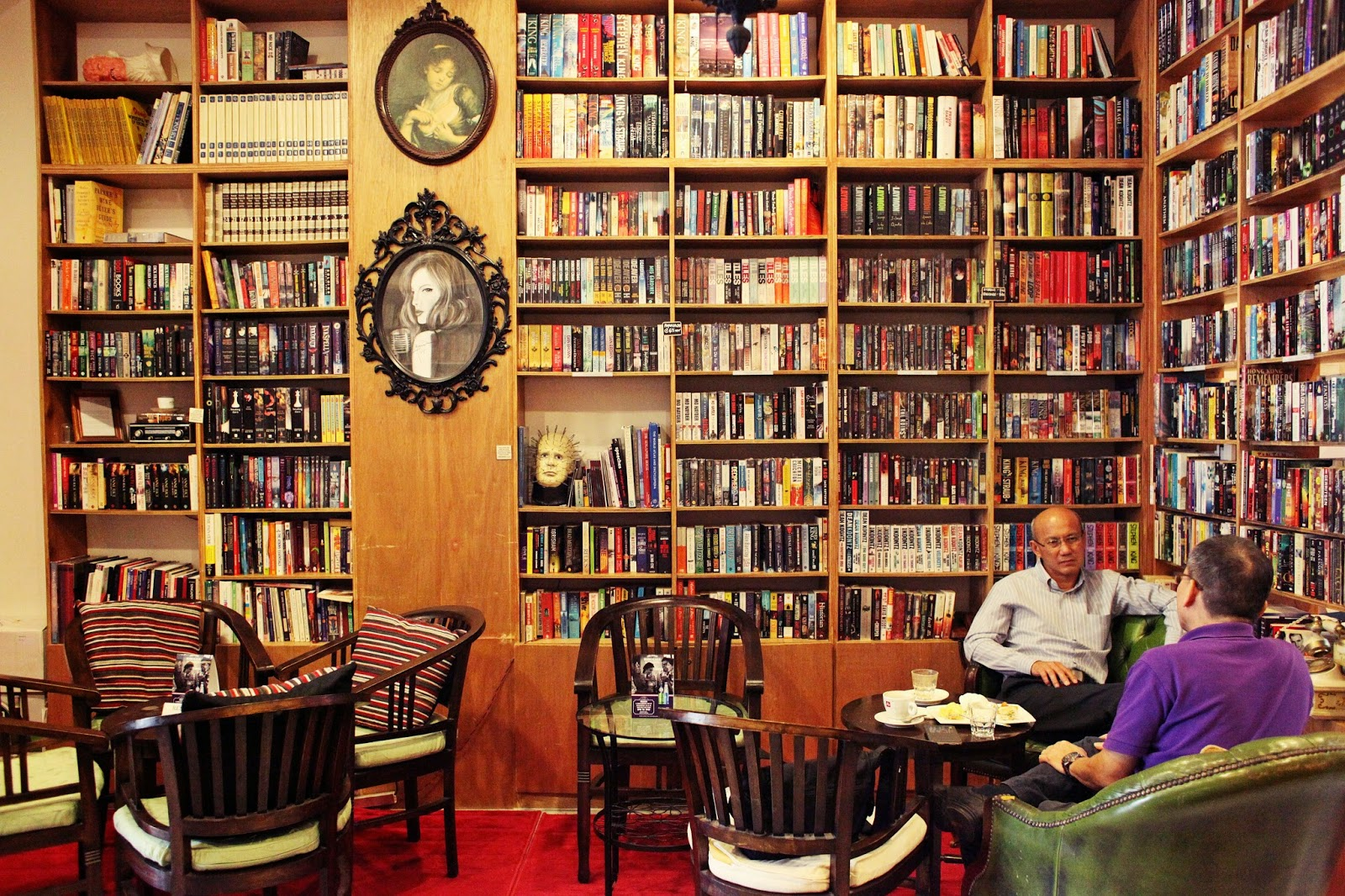 The Reading Room, late night chill