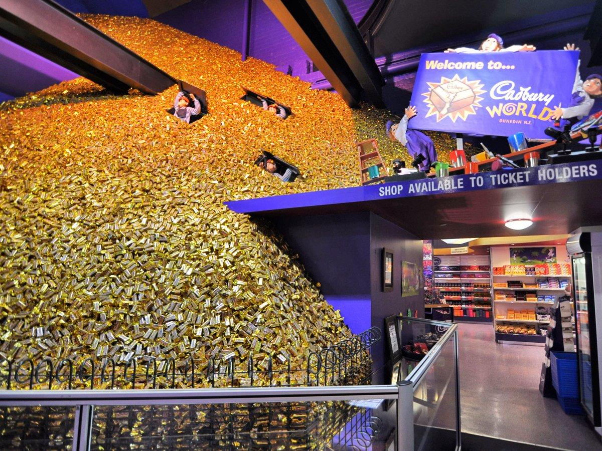 Entrance of Cadbury World
