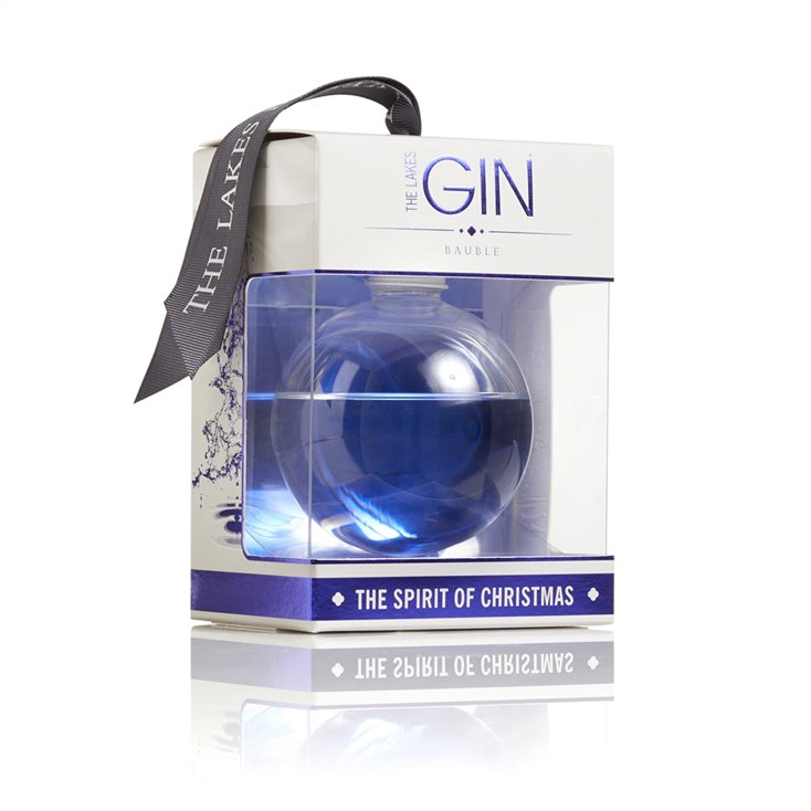 Gin-Filled Baubles by The Lakes Distillery