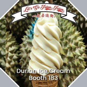 Let's Go Jalan Jalan Golden Durian Ice Cream Booth 183